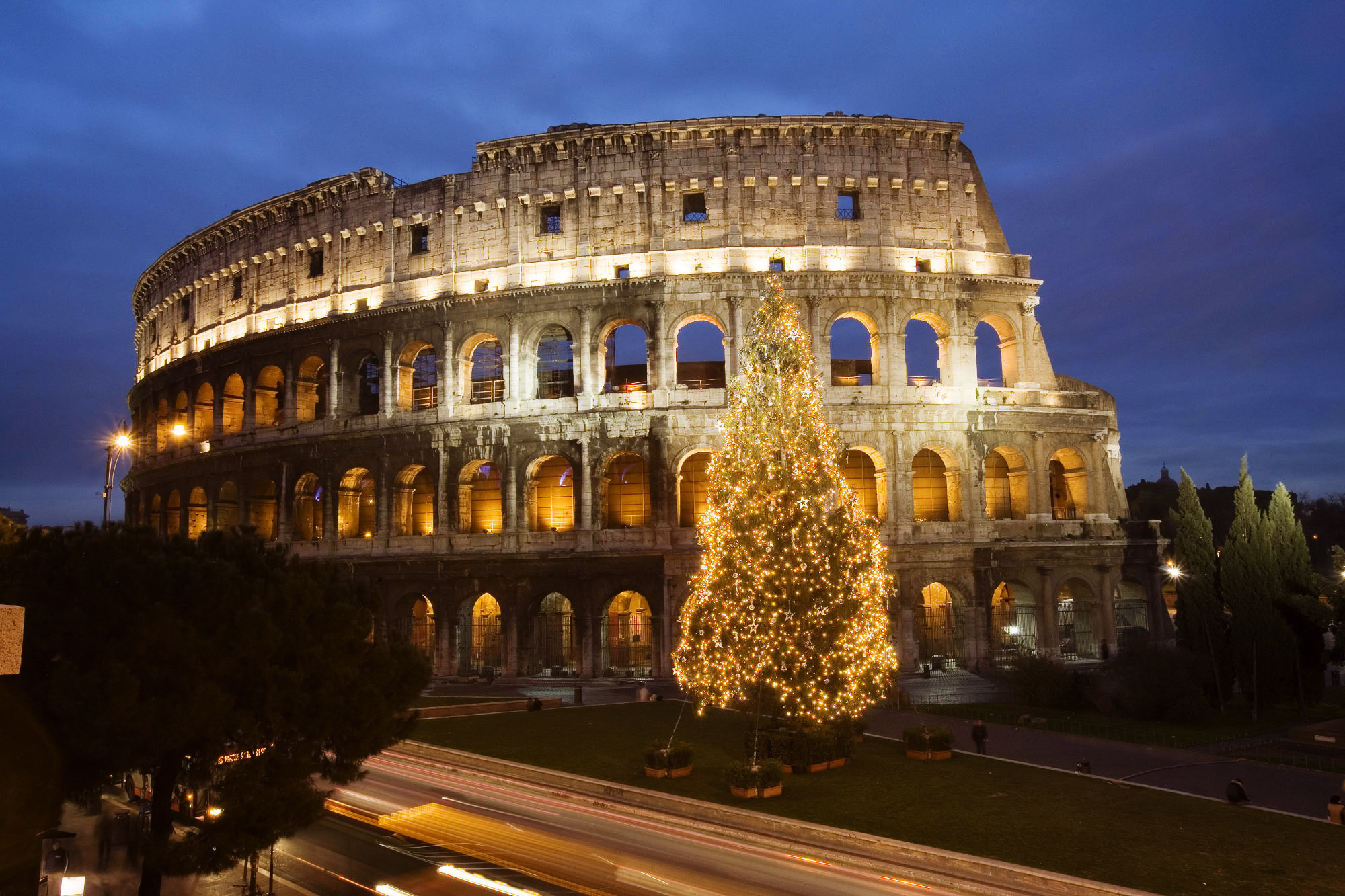 """Christmas in Rome"""