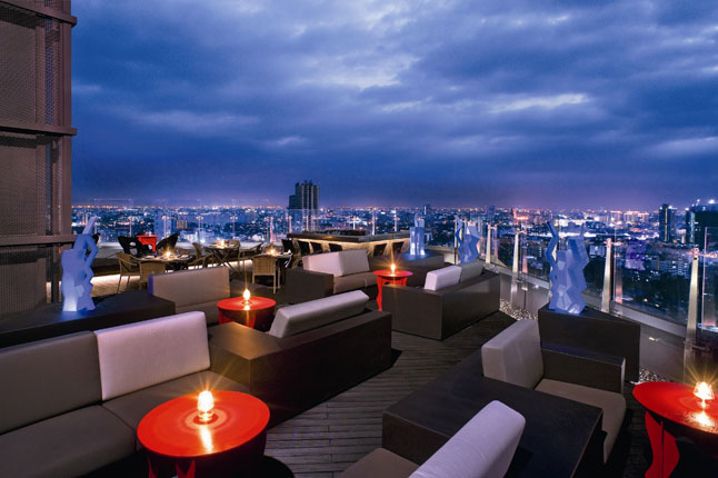 Incredible hotel rooftop bars around the world