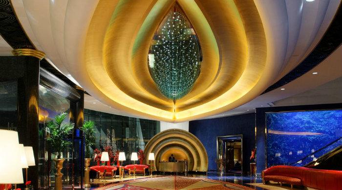 Top amazing hotel lobbies around the world