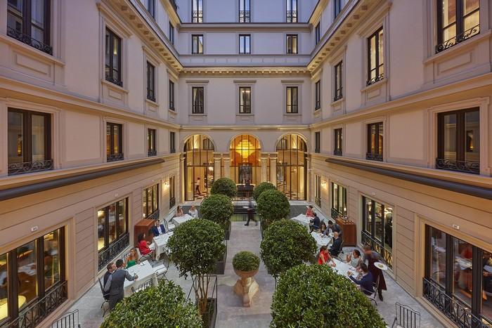Mandarin Oriental Milan is already open