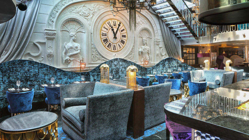 Best Restaurants Interior Design Trends at Luxury Hotels For 2017