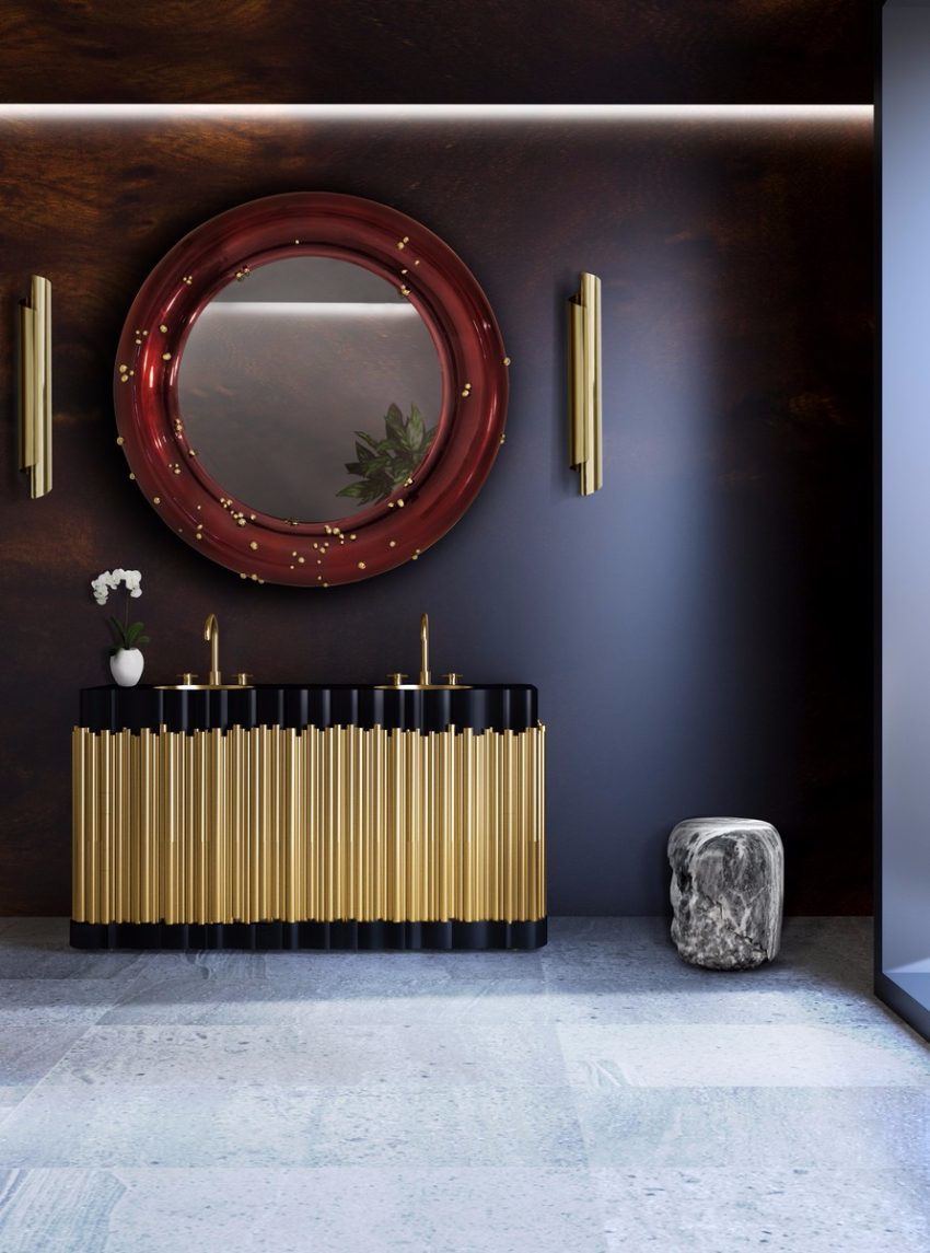 141 Furniture Design Pieces For A Luxurious Hotel Design Project  hotel design 141 Furniture Design Pieces For A Luxurious Hotel Design Project I HOTEL BB Project Bathroom