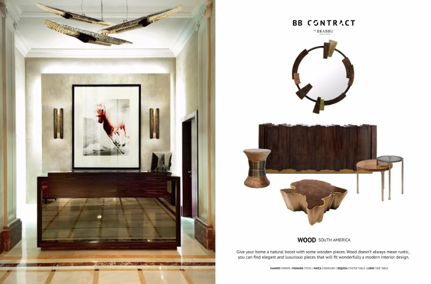 Be Inspired by BRABBU Contract Materials for your next Hotel Interior Design Project