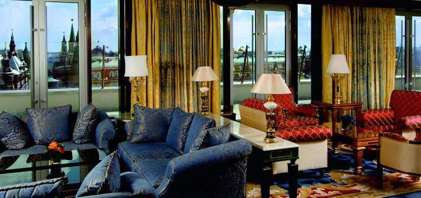 Beautiful Russian 5 star hotel: The Ritz Carlton Moscow