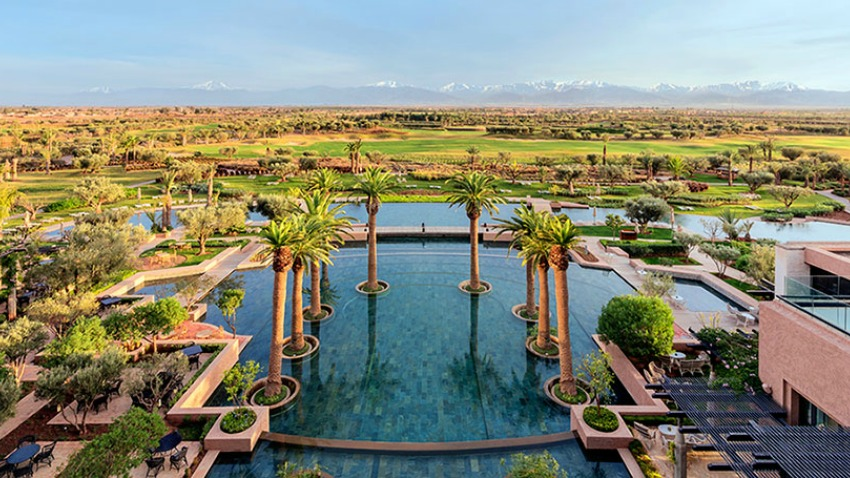 Discover the Spectacular HOTEL ROYAL PALM MARRAKECH