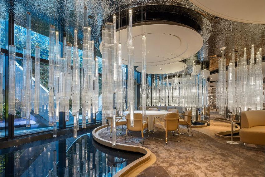 Lasvit Hotel Ideas- Alain Ducasse at Morpheus Hotel