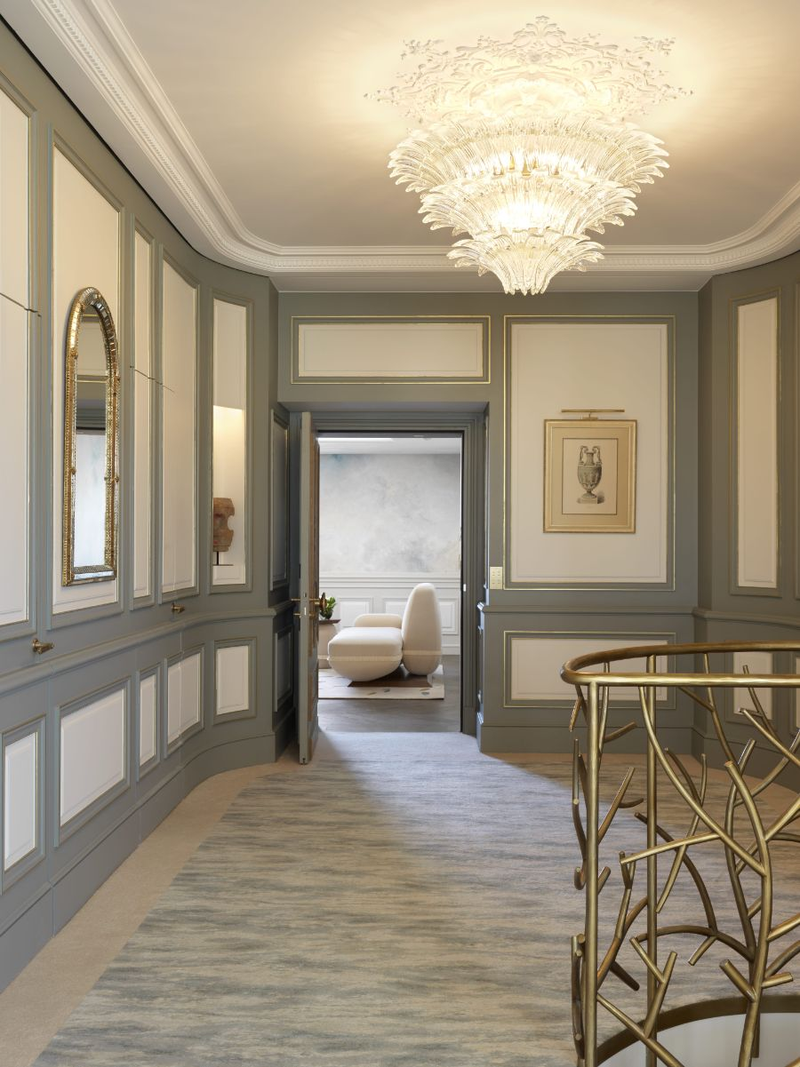 Belle Etoile Suite at Hotel Le Meurice, Dream Design by Lally & Berger