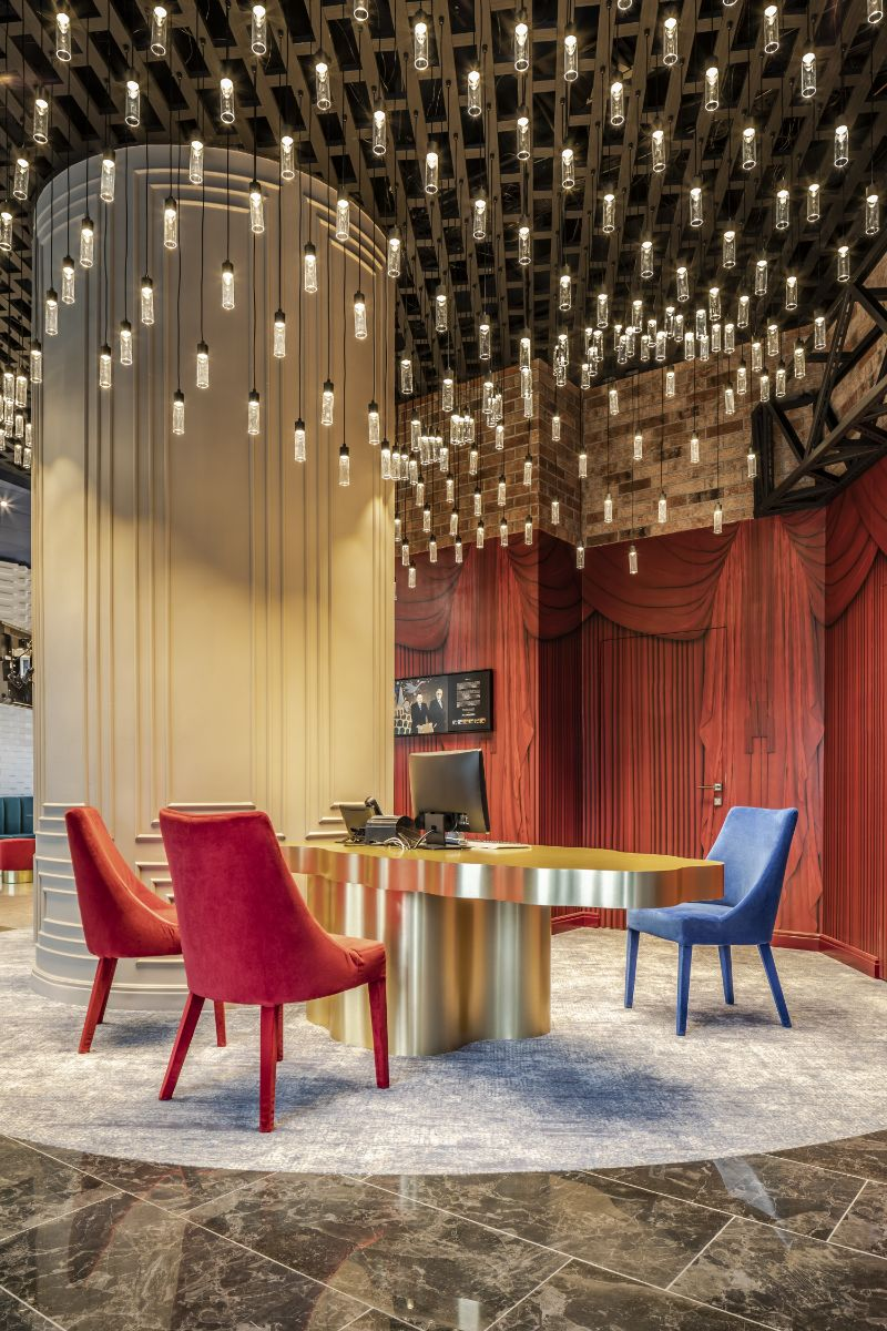 Hotel Mercure Kaliningrad - A Fairy Tale in Hotel Interior Designs
