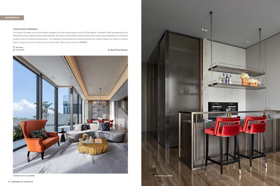 Inspirational Ebook, Blending Fierce Design with Upscale Projects