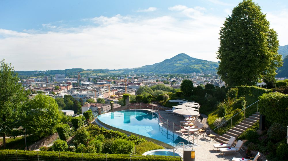 Charming Castle Hotel Schloss Mönchstein in Salzburg by H2 YACHT Design