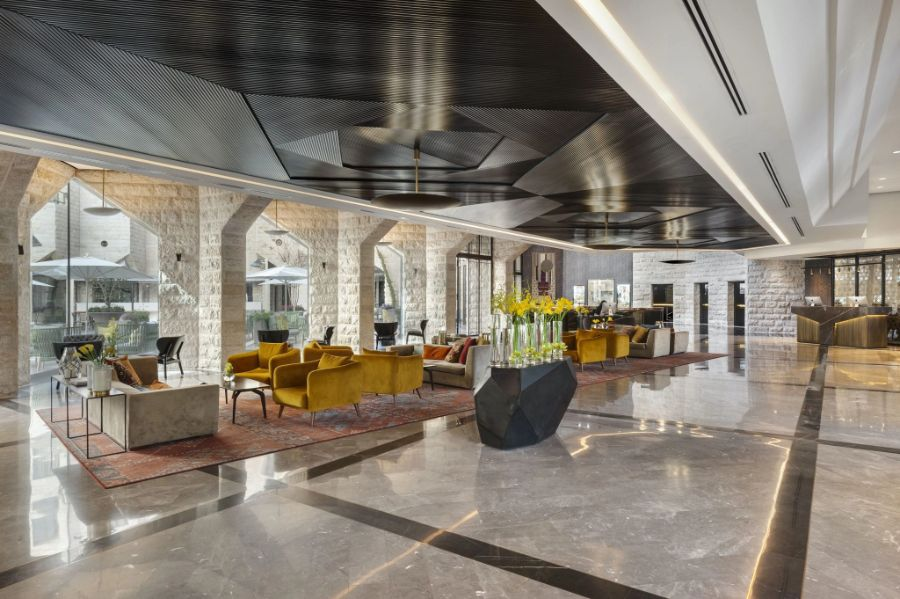 Inbal Hotel by Studio Michael Azoulay, a Gem at the Heart of Jerusalem