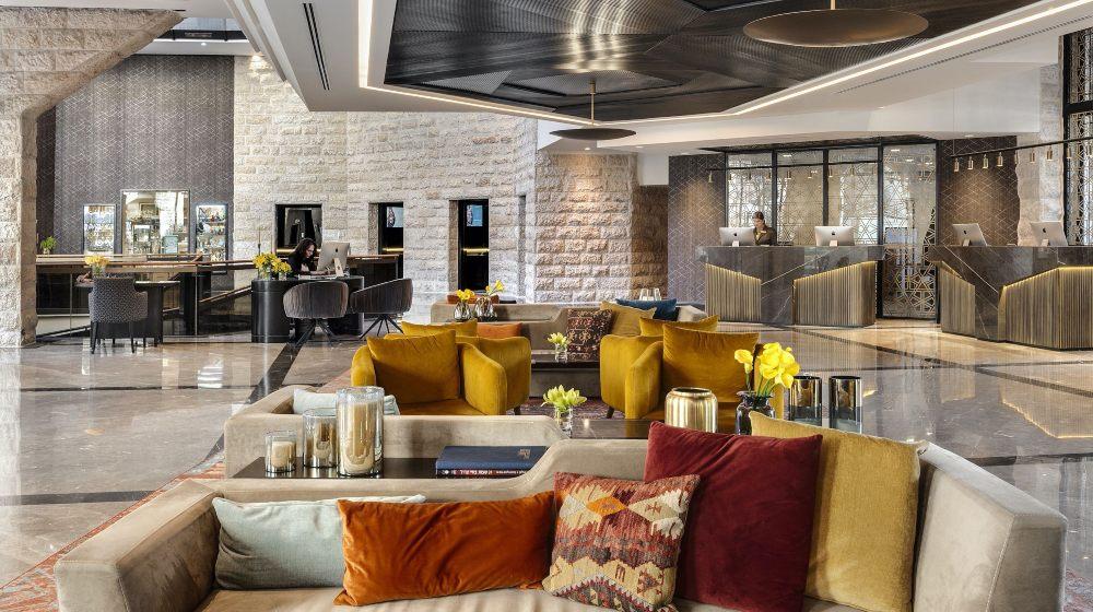Inbal Hotel by Studio Michael Azoulay, a Gem in Jerusalem