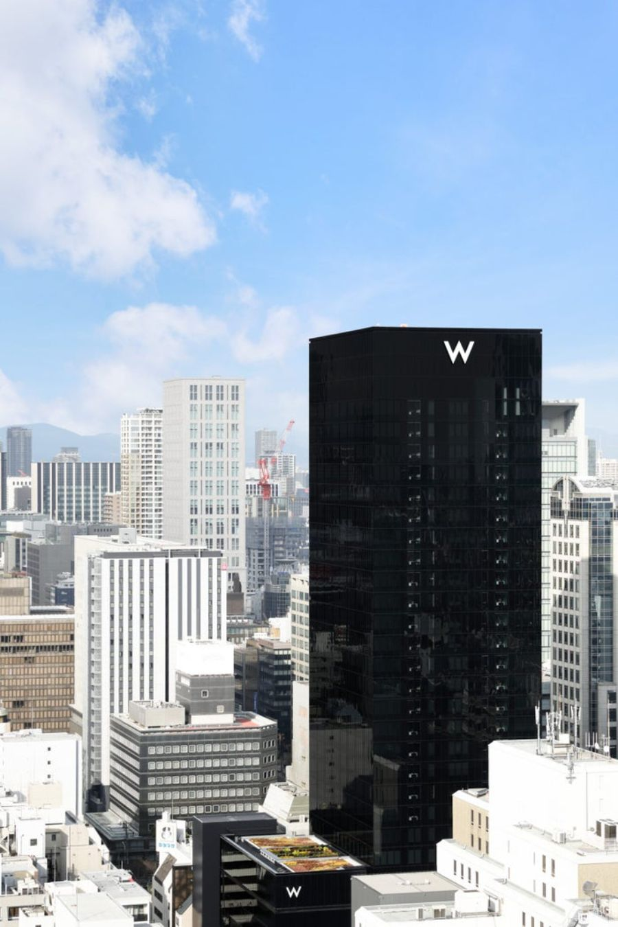 W Osaka, A Luxury Lifestyle Hotel That Just Recently Opened