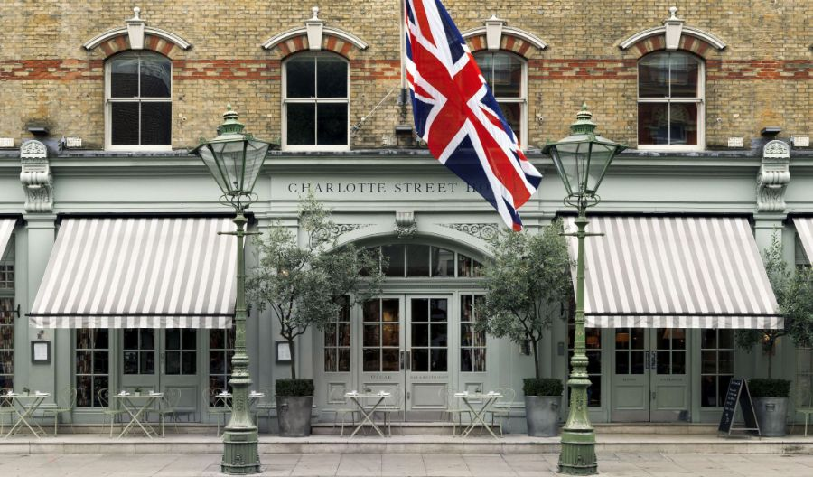 Charlotte Street Hotel, The Bloomsbury's Design Reinvented by Kit Kemp