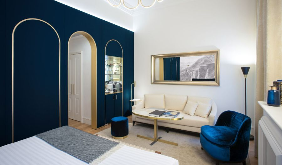 Elizabeth Unique Hotel Rome, A Sophisticated & Modern Interior Design
