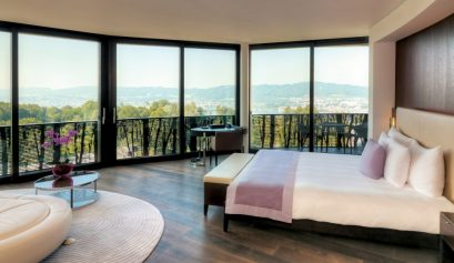 Hotels in Zurich - 5 Unique, Modern, Contemporary and Art-Filled Interiors