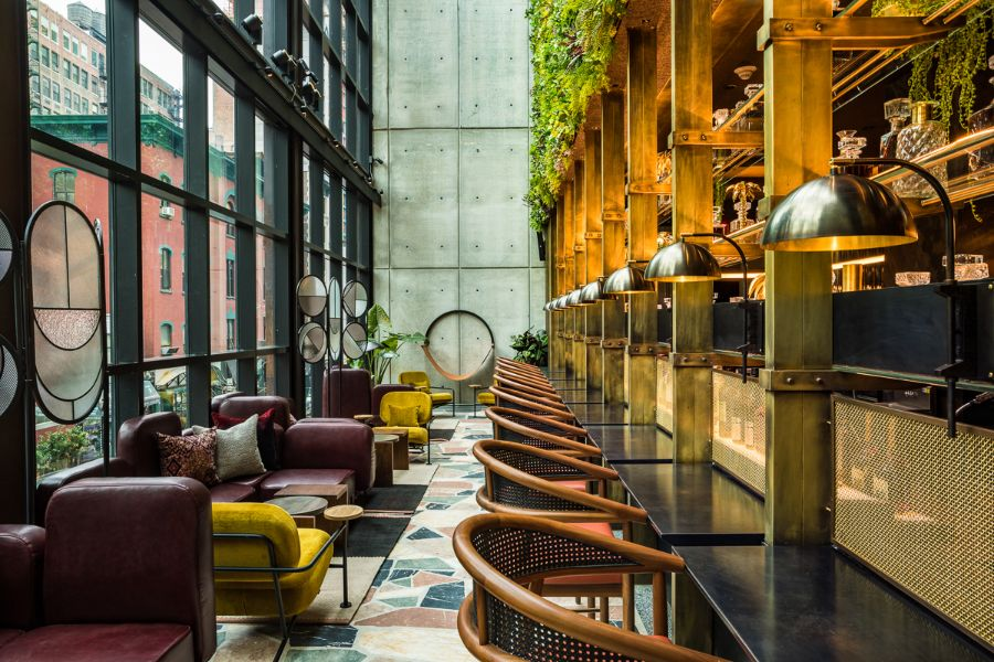 Moxy Chelsea Hotel, a Contemporary Stunner by NYC Designers