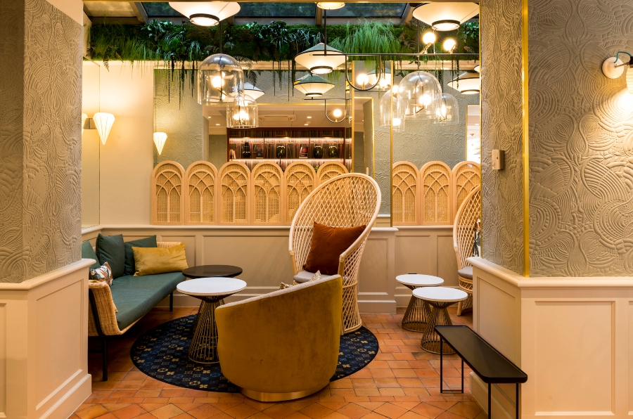 Nicolas Thermed creates Modern Hotel Design Projects