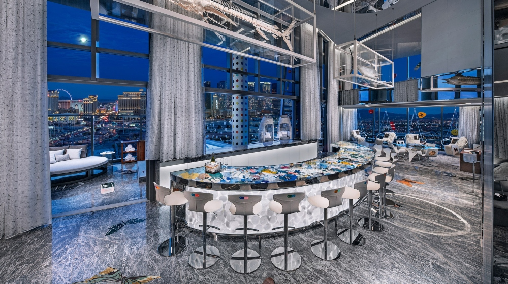 Damien Hirst's Project – Luxury Hotel Suite