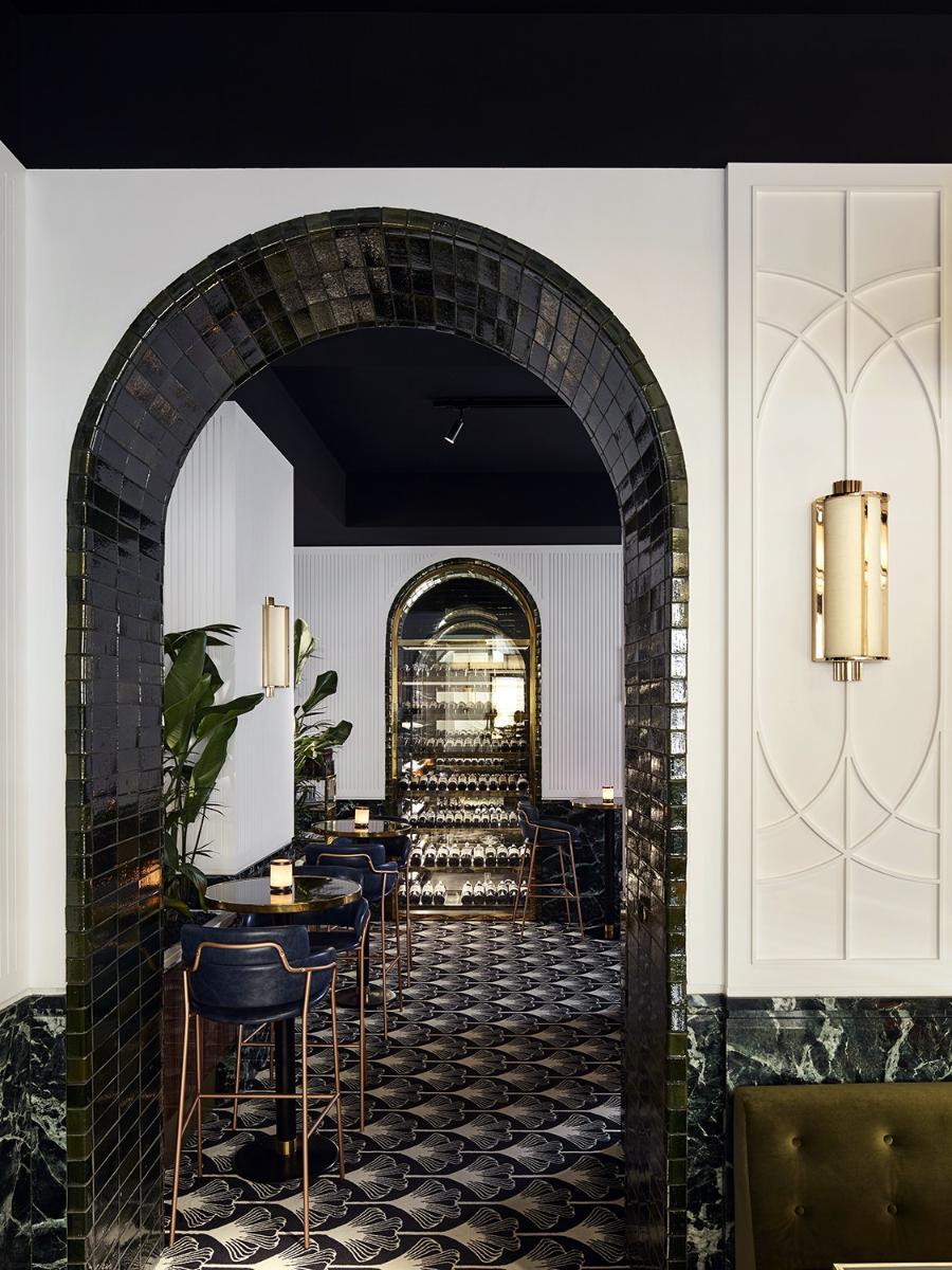 Hotel Design Ideas: Fantastic Beefbar Restaurant in Paris Designed by Humbert & Poyet