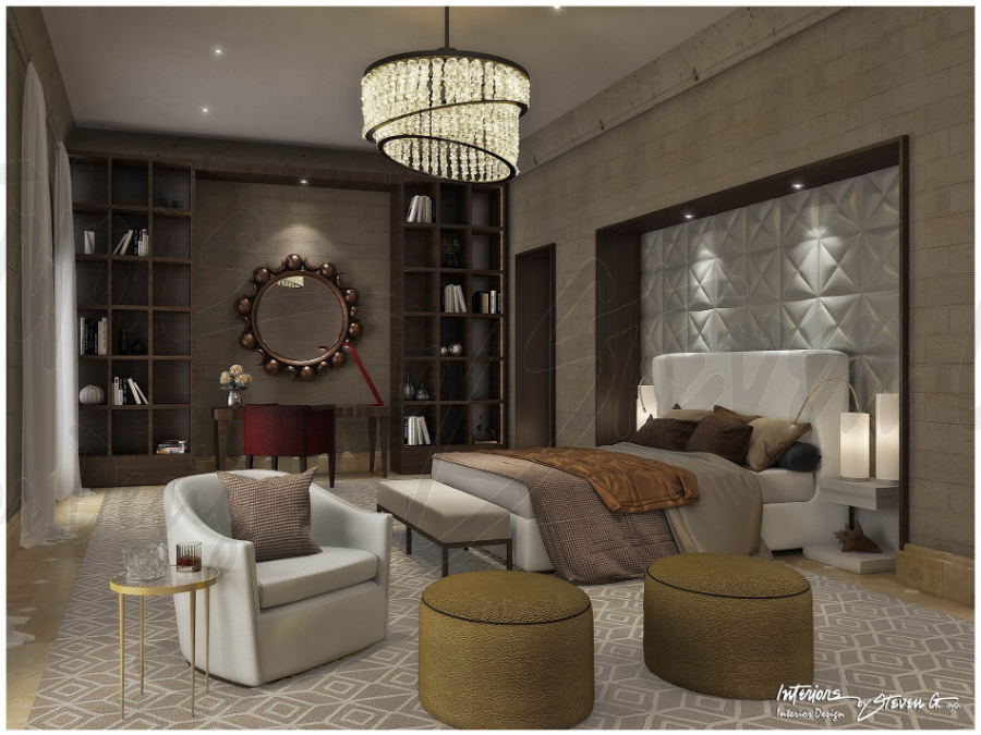 Interiors by Steven G. - 5 of their best Hotel Design Projects - Palazzetti St Peter