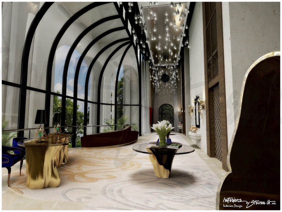 Interiors by Steven G. - 5 of their best Hotel Design Projects - Palazzetti St Regis
